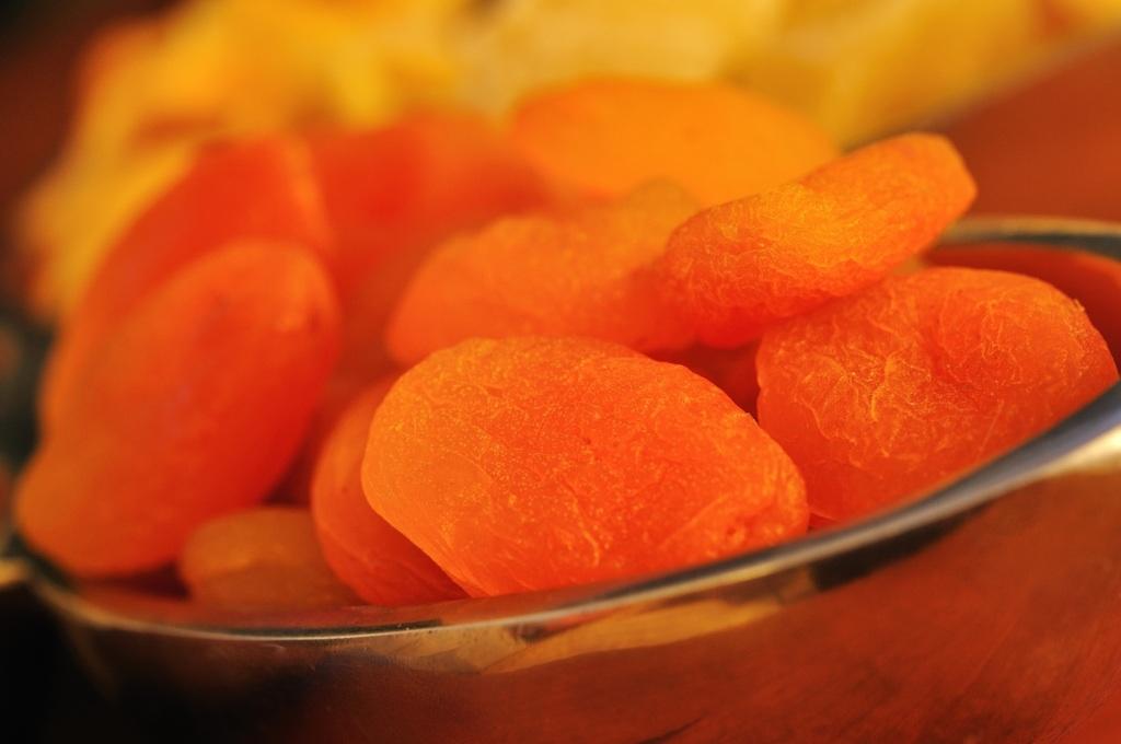Food Fotografie - Aprikosen getrocknet