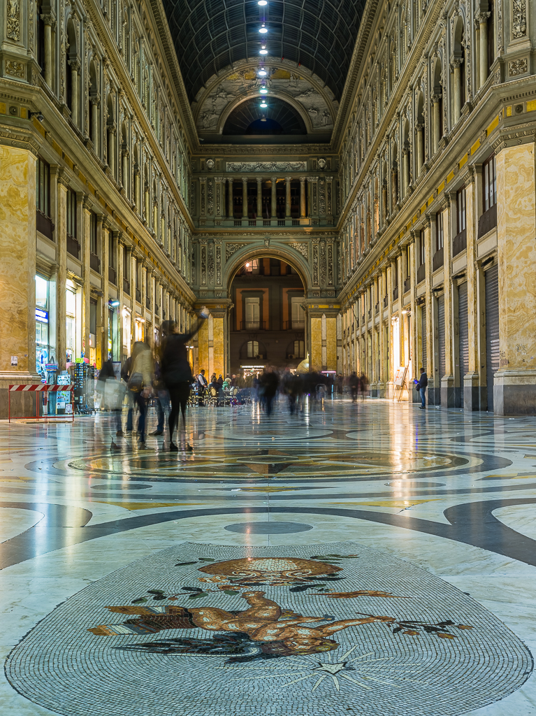 Neapel - Galleria Umberto I