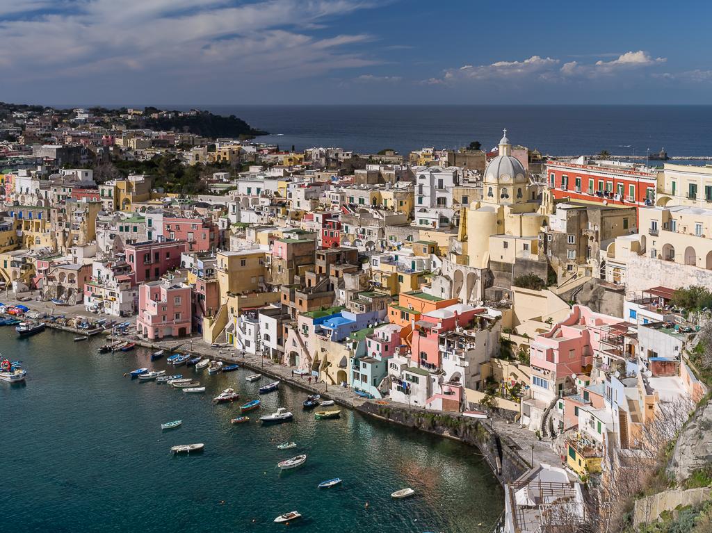 Neapel - Procida, Corricella