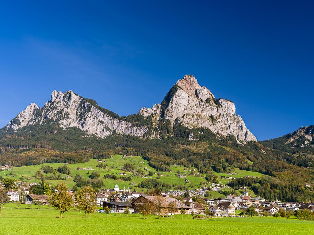 Schwyz - grosser und kleiner Mythen