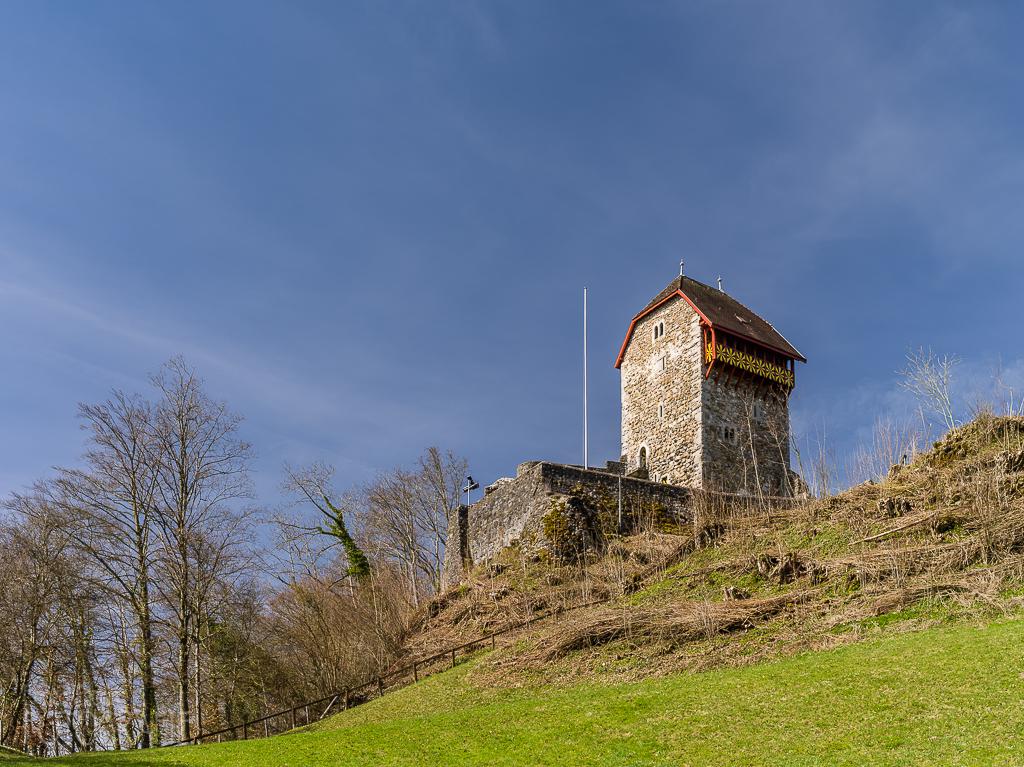 Wattwil Burg Iberg