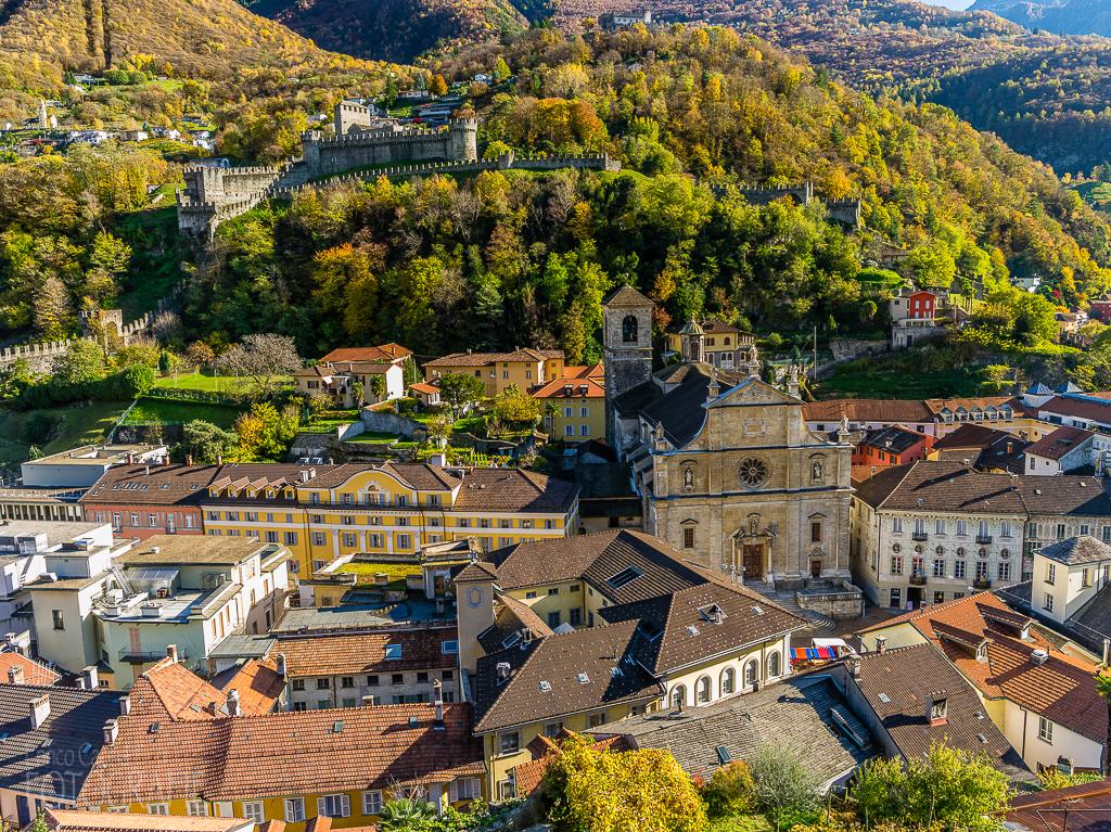Bellinzona -Altstadt