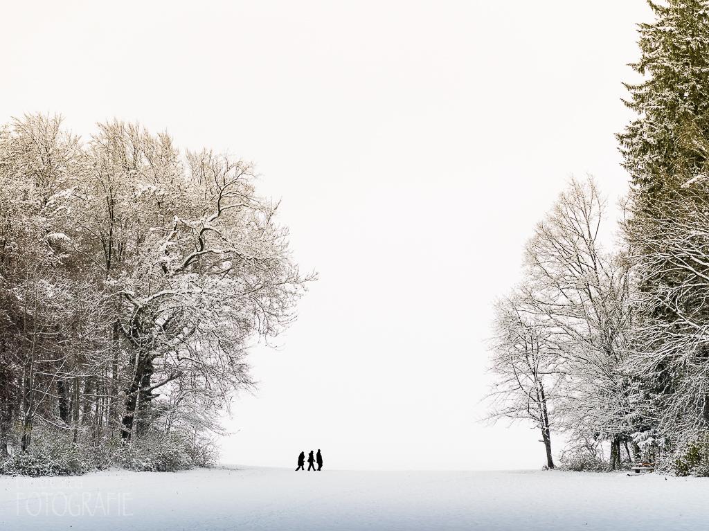 Winterspaziergang, 150mm, Blende 5.6, Verschluss 1/30 Sek.