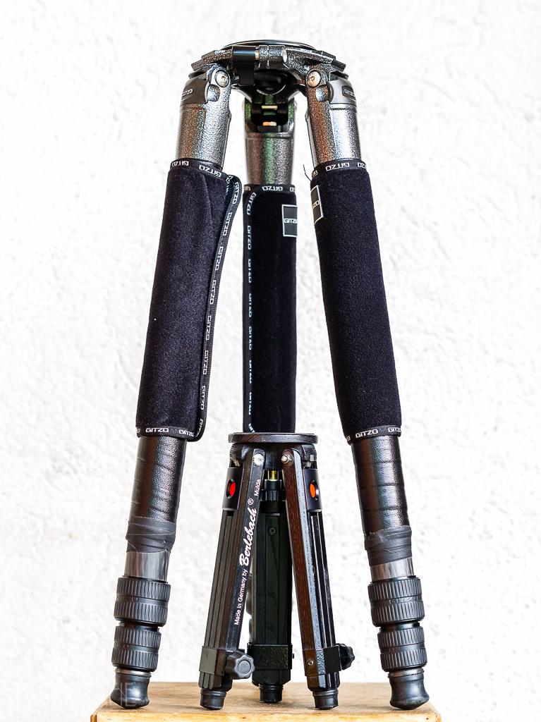 Grössenvergleich Gitzo - Berlebach Mini