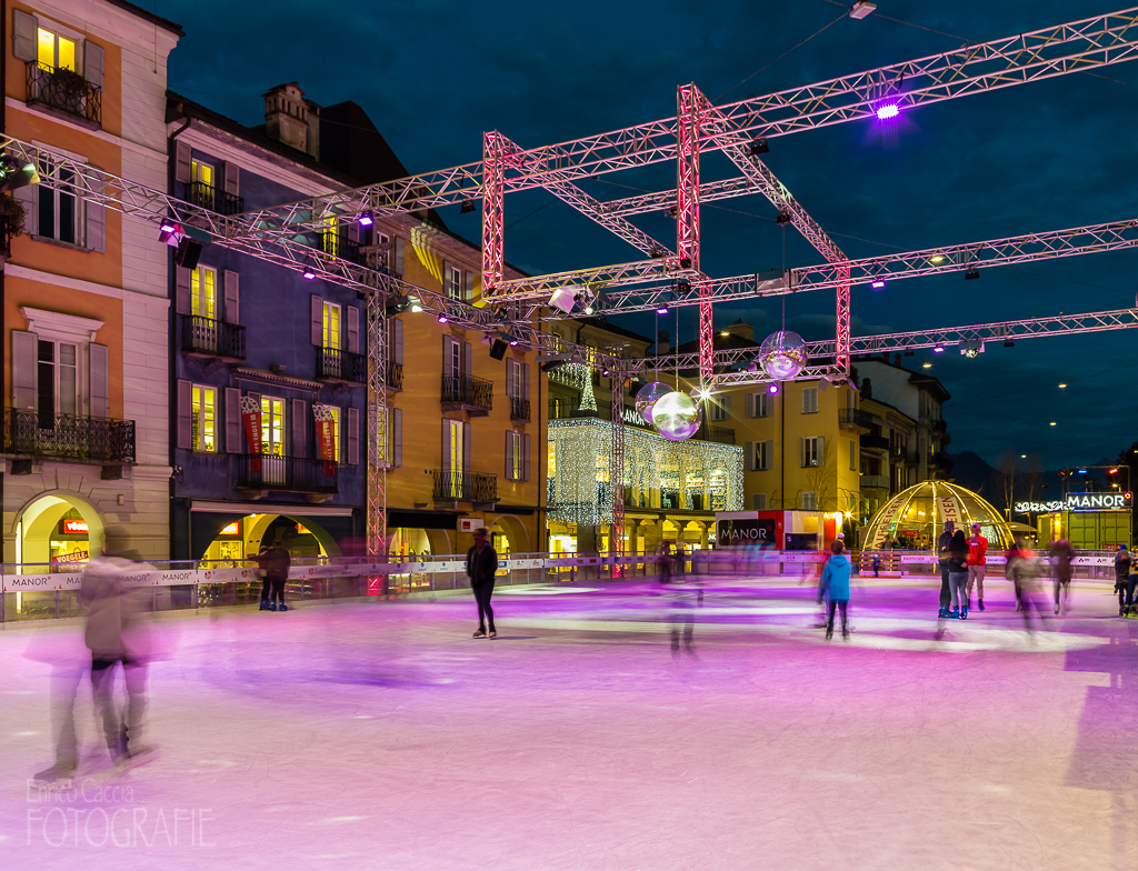 Locarno on Ice, Piazza Grande