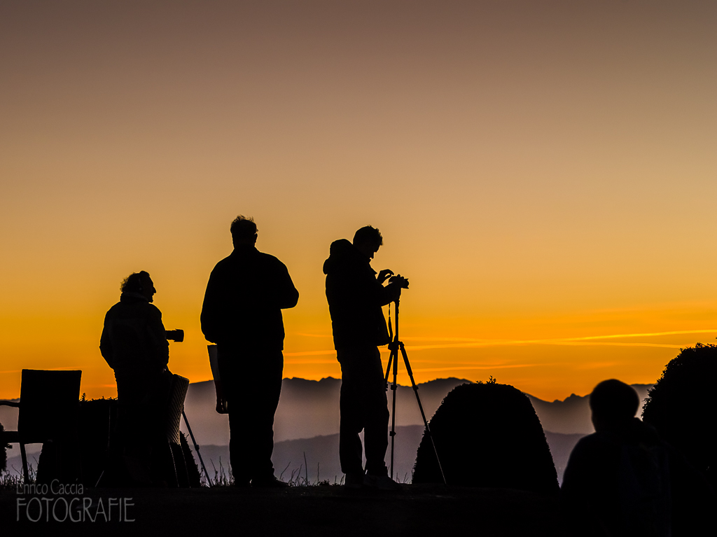 Fotografen auf dem Uetliberg