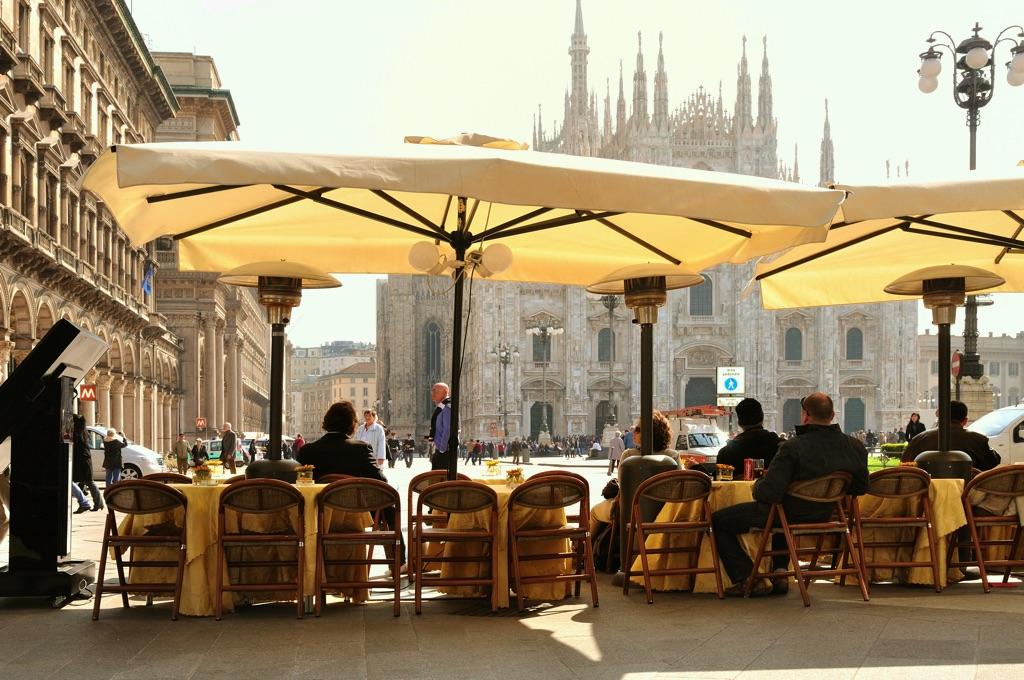 Mailand, Piazza del Duomo
