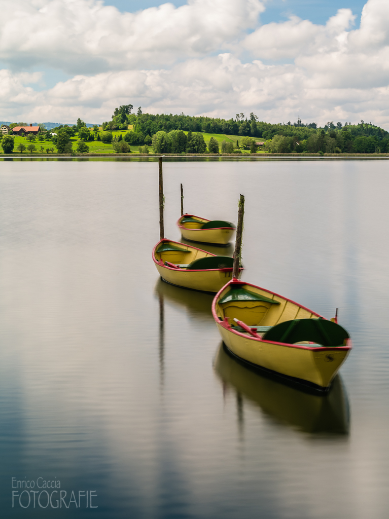 Boote auf dem Pfäffikersee