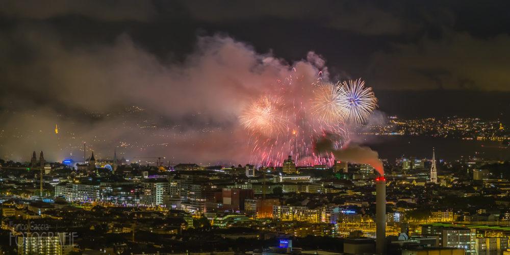 Firework in Zurich