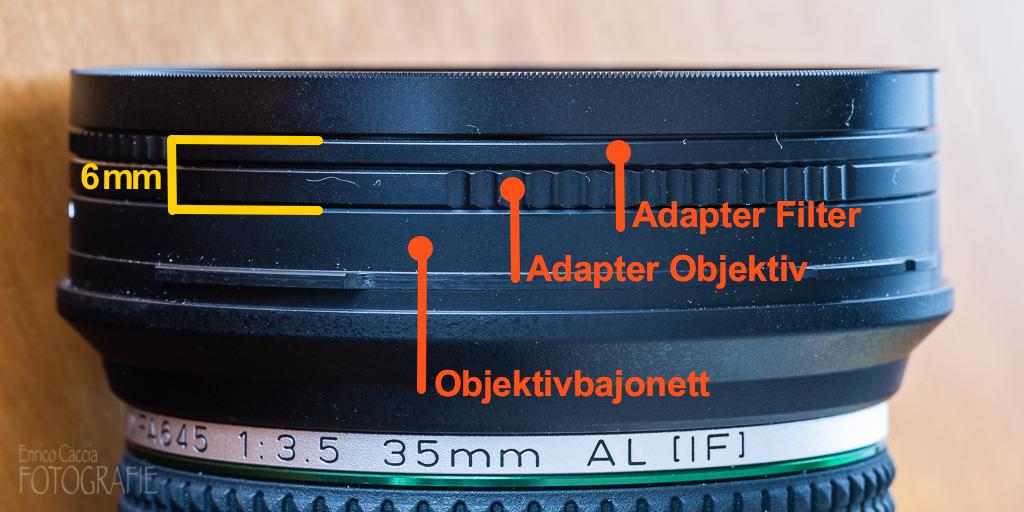 Xume magnetischer Filteradapter