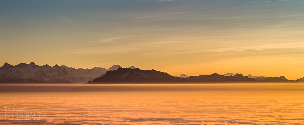 Uetliberg Sonnenuntergang
