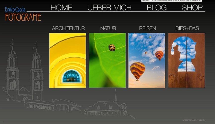 Aktualisierung Homepage