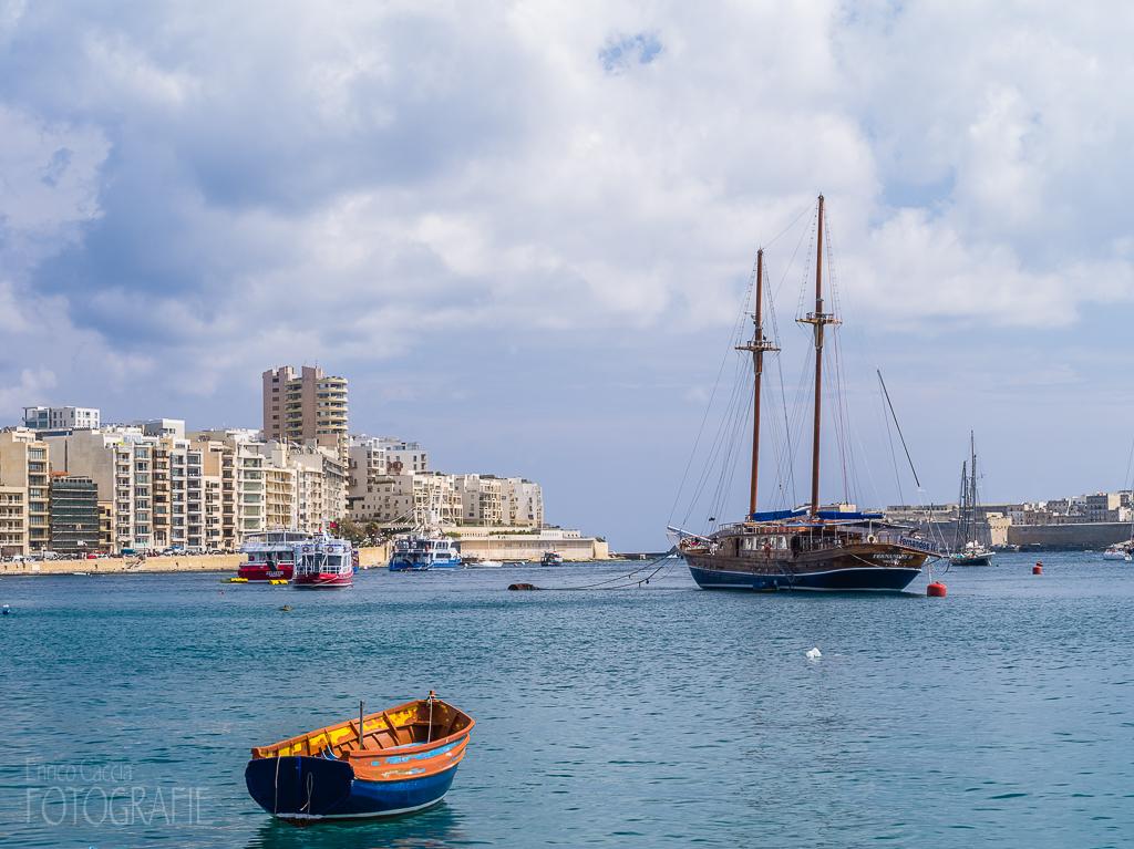 Malta - Sliema Hafen
