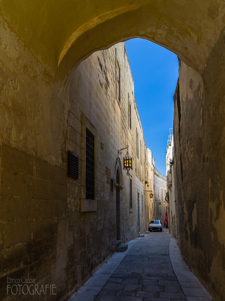 Malta - Mdina Altstadtgasse
