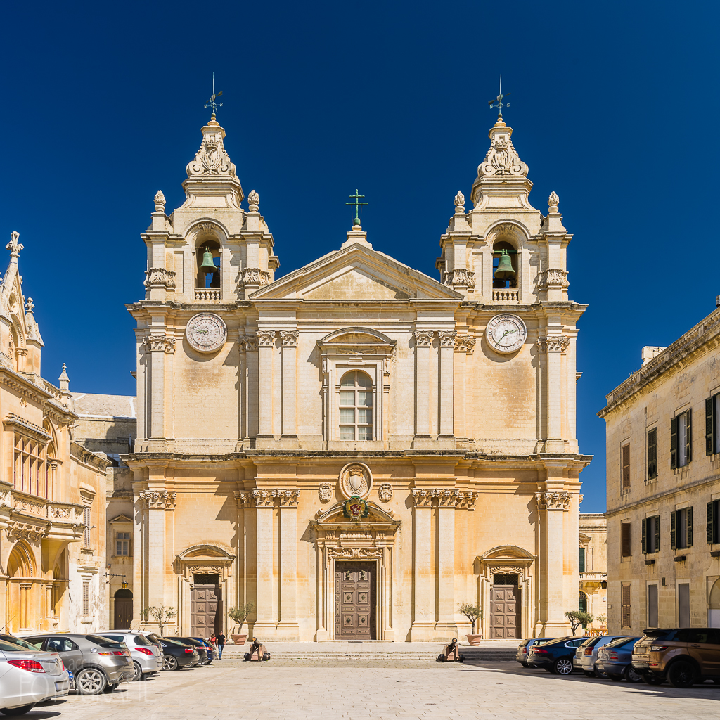 Malta - Mdina, St. Pauls Kathedrale
