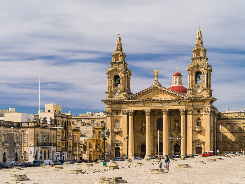Malta - Floriana St. Publius Kirche