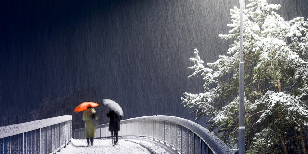 Schlechtes Wetter oder faule Ausrede?