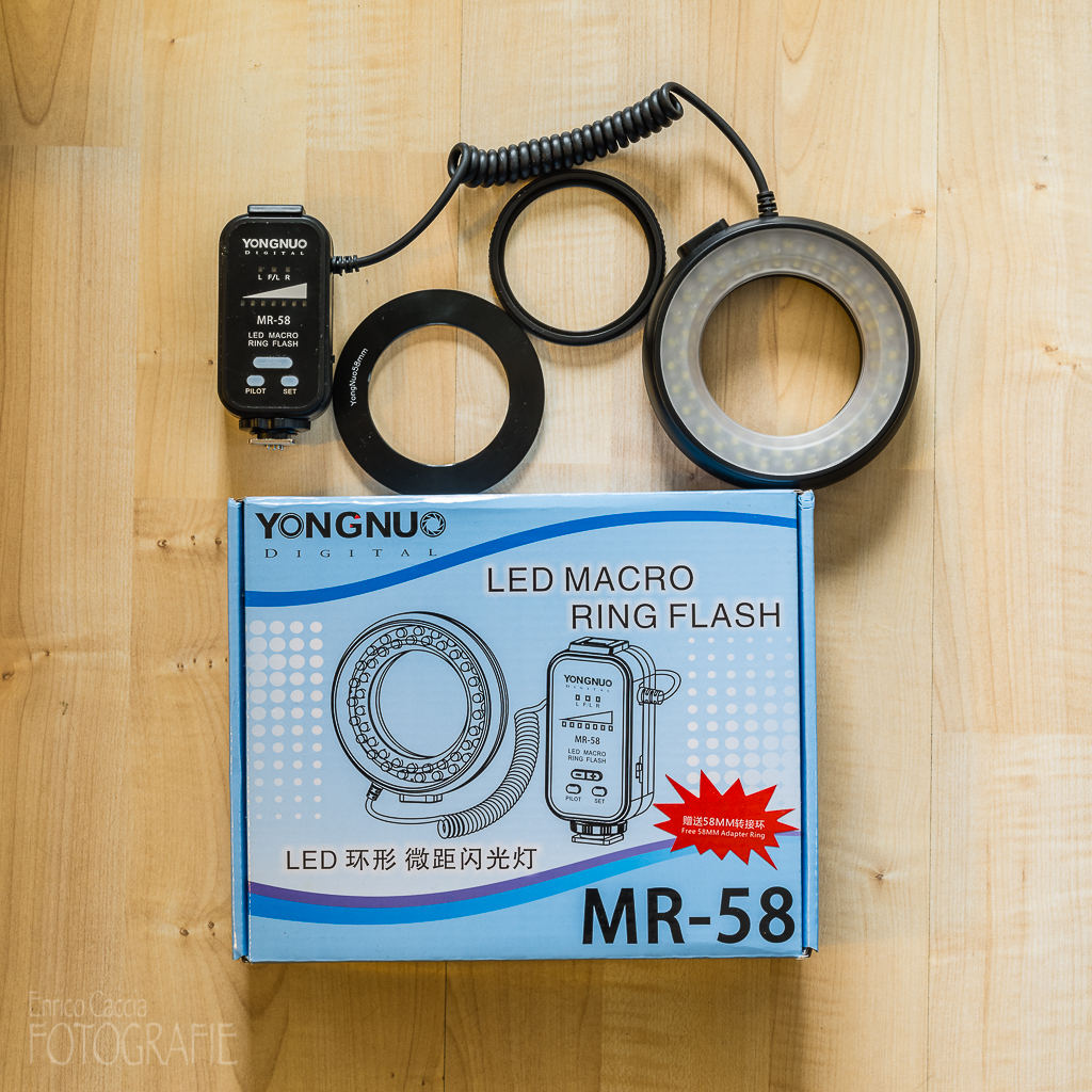 Yongnuo MR-58 LED Ring-Makroblitz