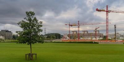 Glattpark Baustelle