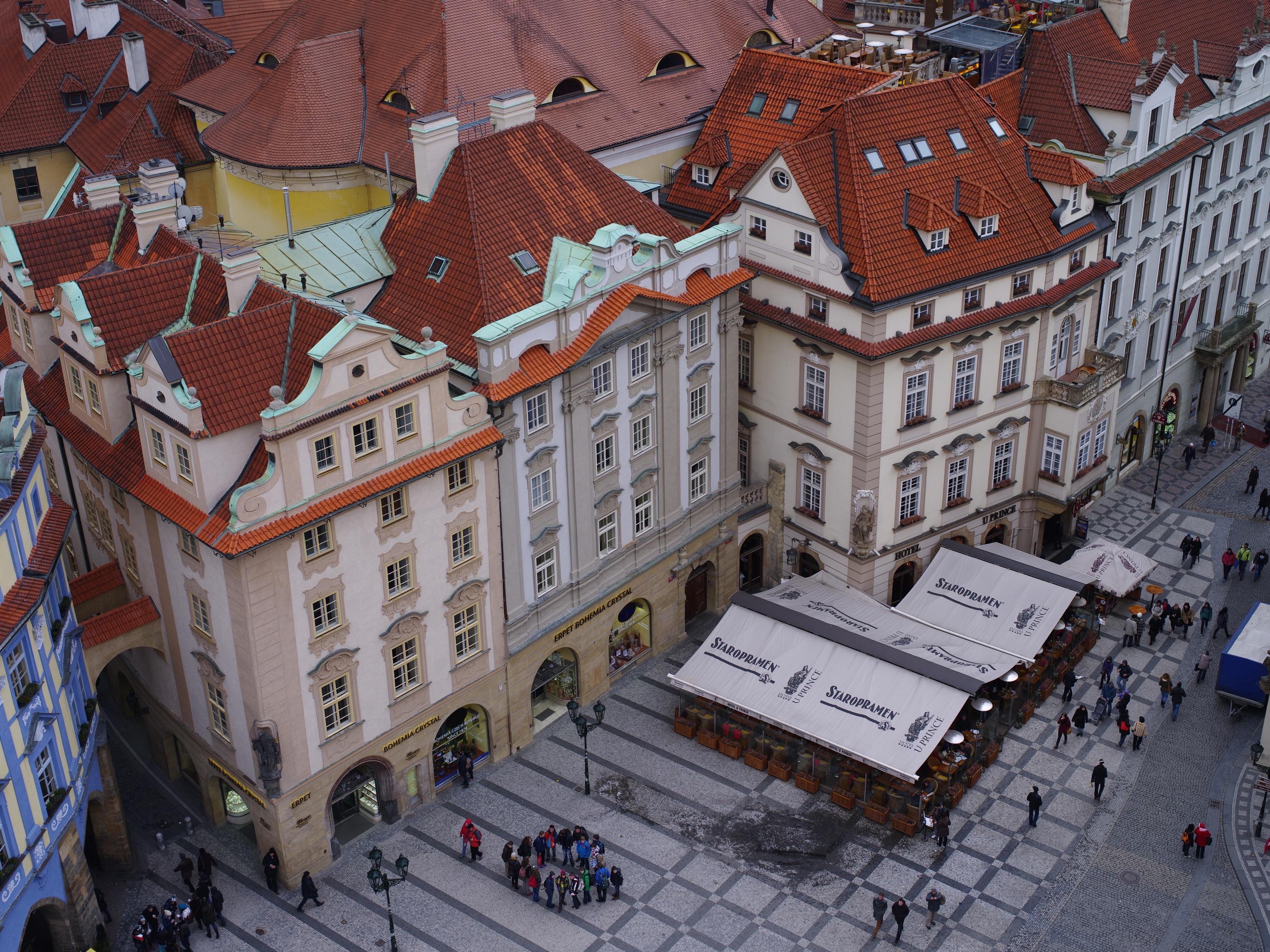 Prag aus der Vogelperspektive