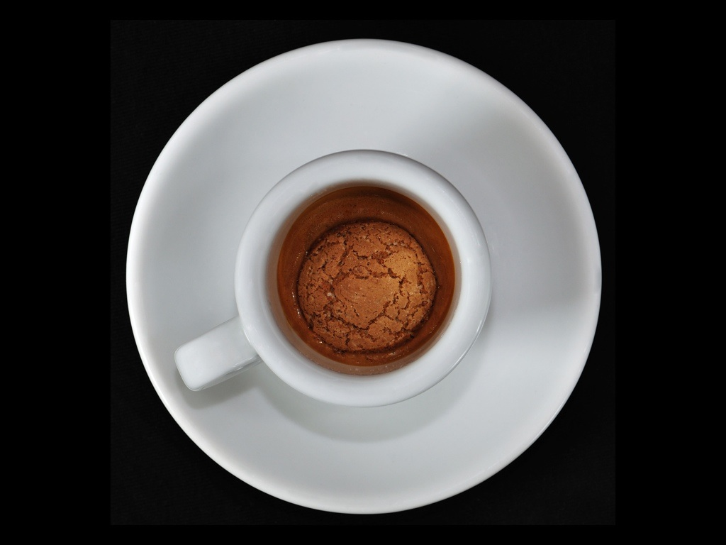 Food Fotografie - Espresso mit Amaretti