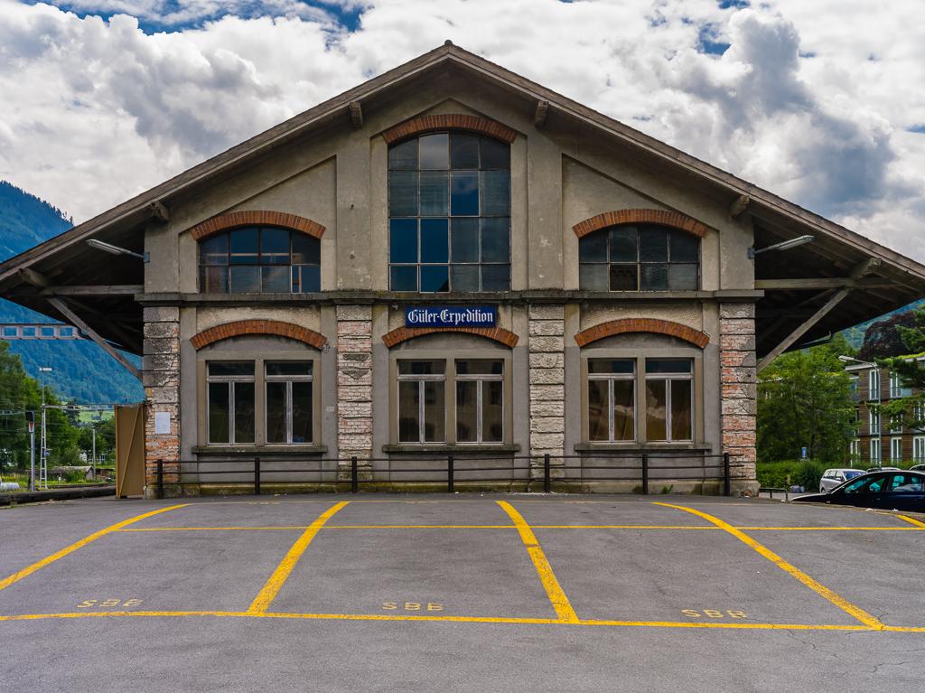 Glarus - Bahnhof Güterschuppen