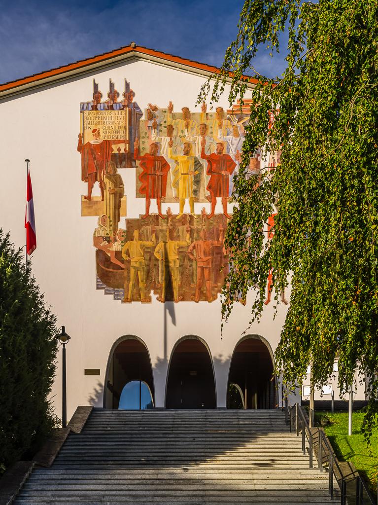 Schwyz - Bundesbriefmuseum