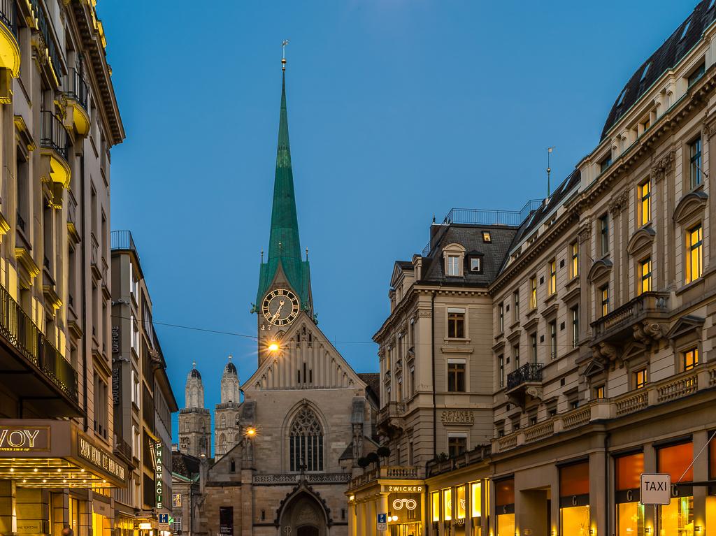 Abendspaziergang in Zürich