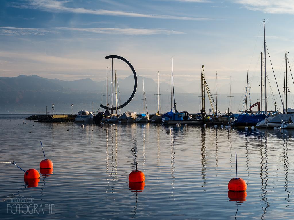 Lausanne - Hafen von Ouchy
