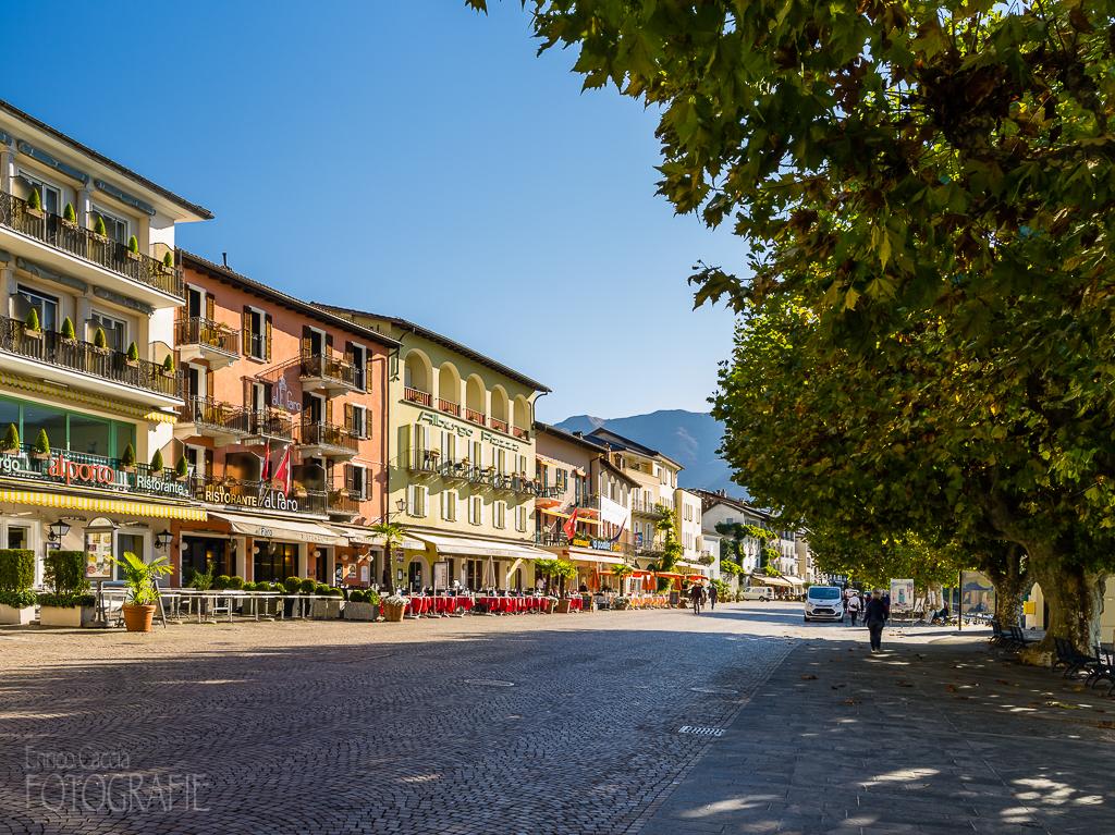 Ascona - Piazza Giuseppe Motta