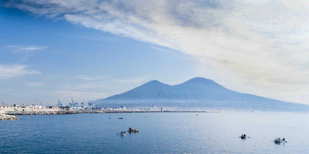 Neapel und Vesuv