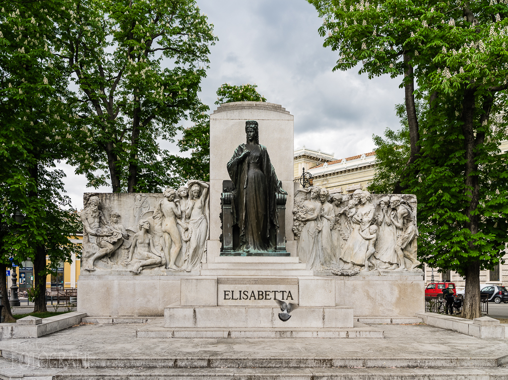 Triest, Sissi-Denkmal