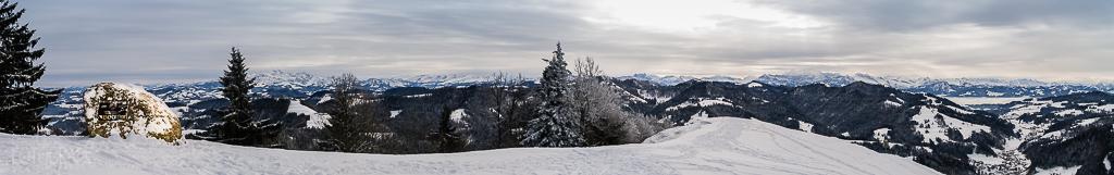 Panorama vom Hörnli
