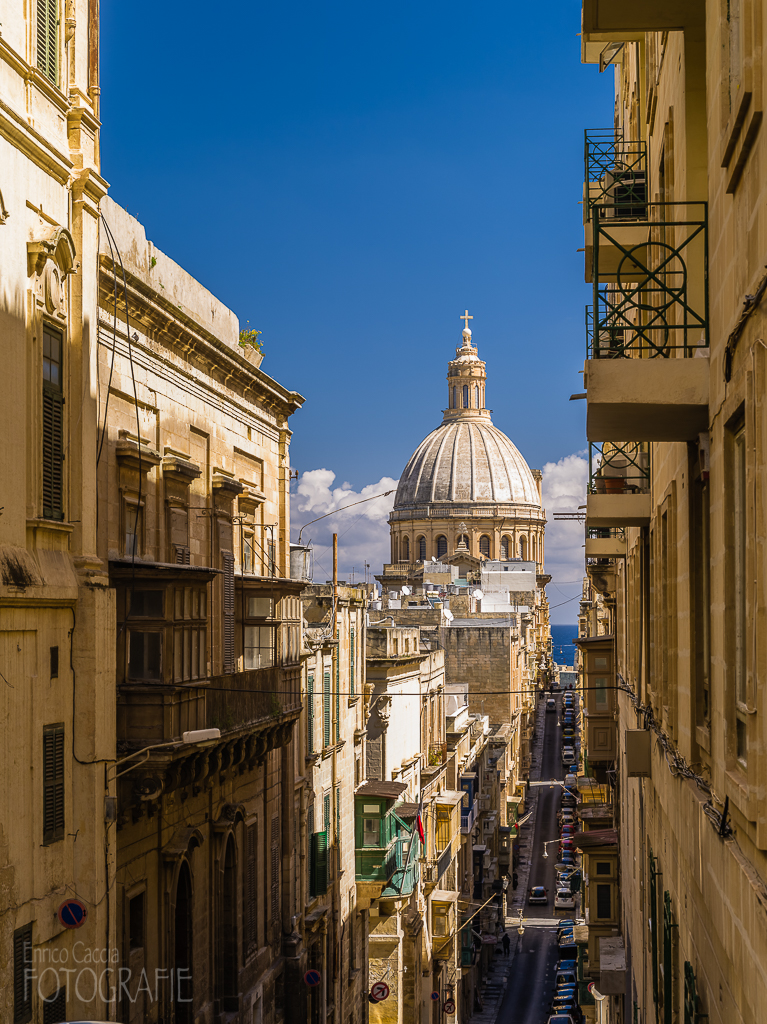 Malta - Valletta Karmeliterkirche