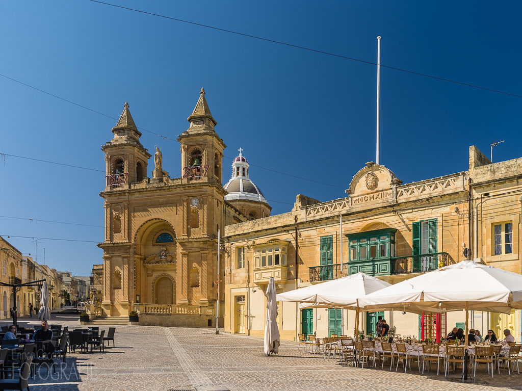 Malta - Marsaxlokk Our Lady of Pompei Kirche