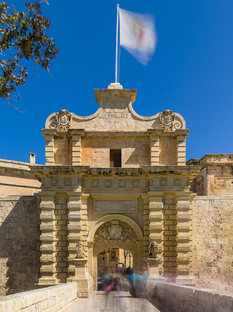 Malta - Mdina Stadttor