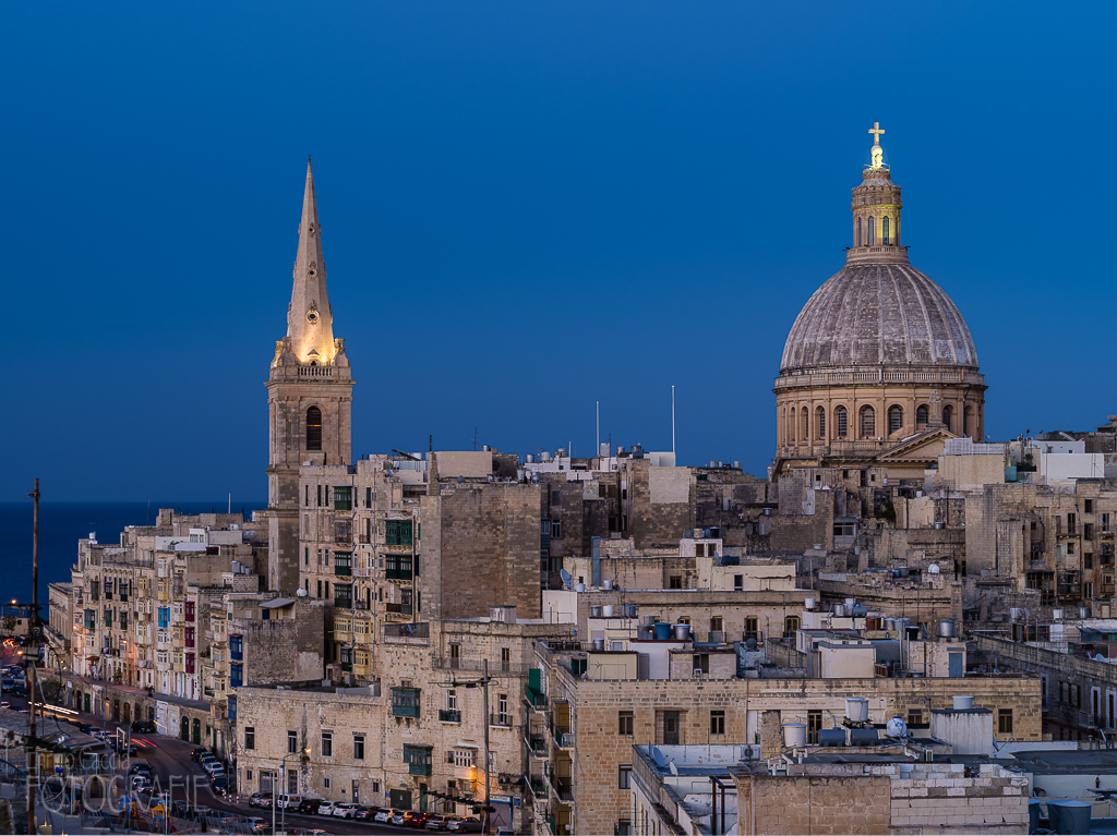 Malta - Valletta, Our Lady of Mount Carmel und St Paul's Pro-Cathedral
