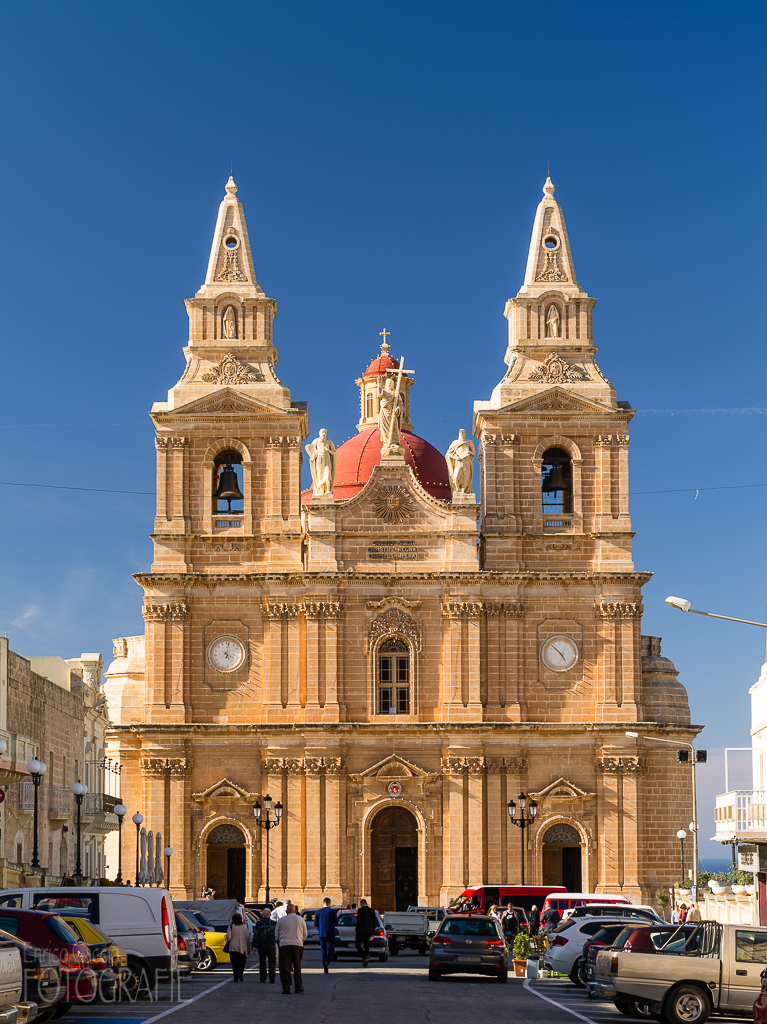 Malta - Mellieha Parish Church of Santa Marija