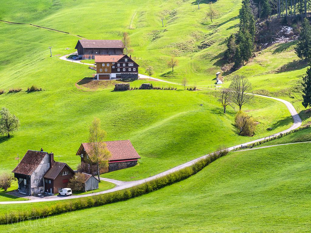 Landschaft bei Einsiedeln