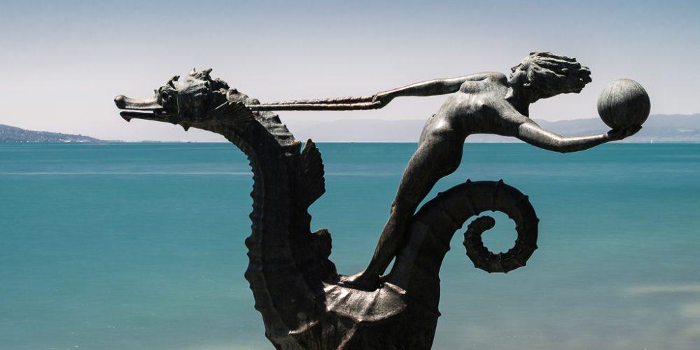 Schon wieder am schönen Lac Léman (Vevey und Montreux)
