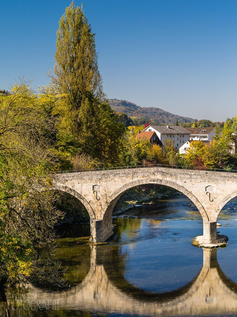 Historische Römerbrücke in Rorbas
