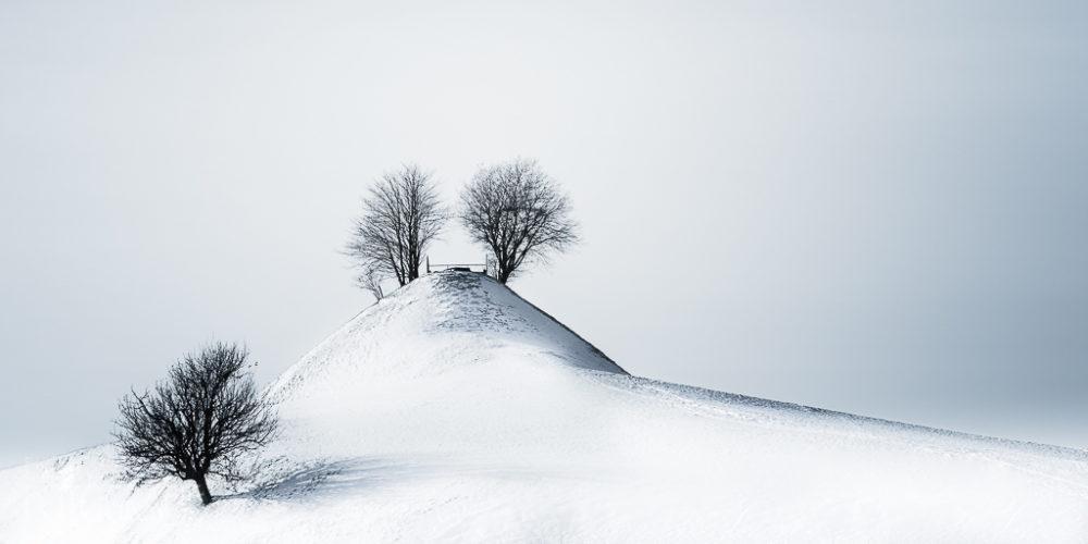 Schneelandschaft Titel