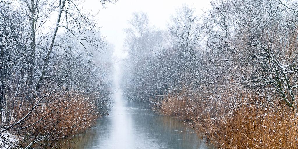 Glatt im Winter