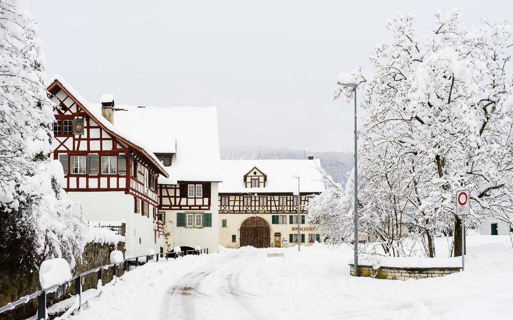 Wintereinbruch in Otelfingen